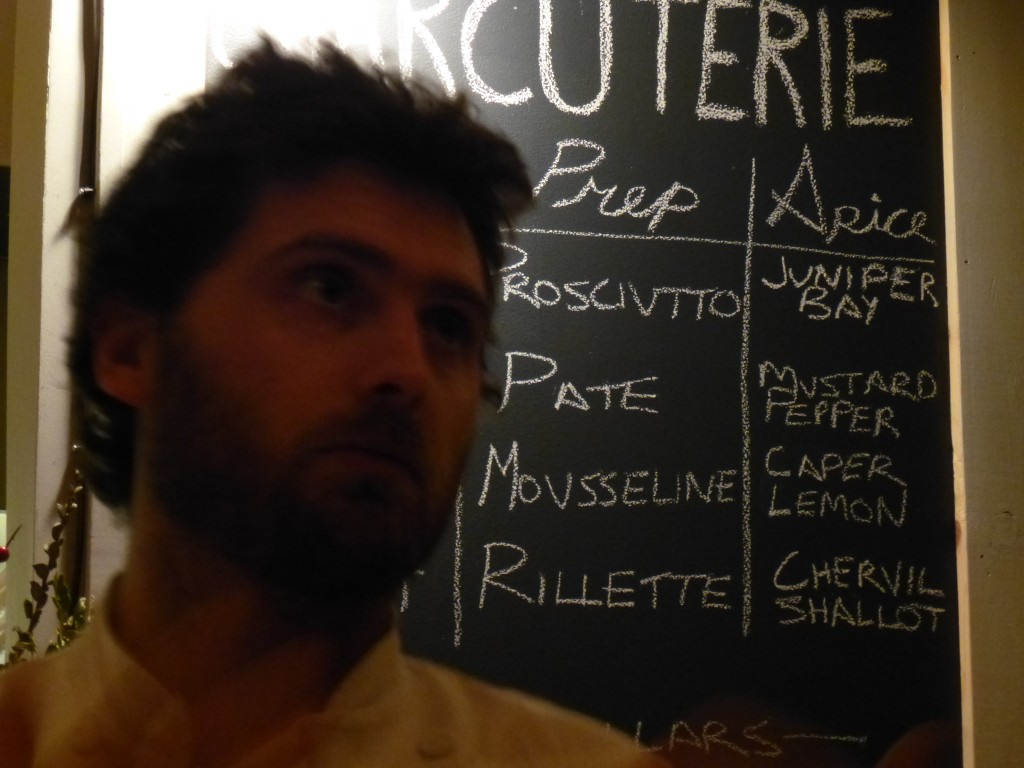 Chef de Cuisine Joshua Marrell