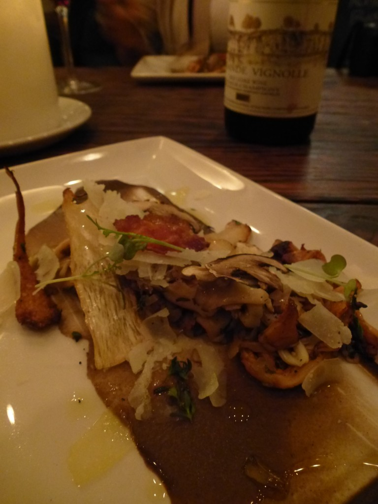 Mushrooms and Domaine Filliatreau