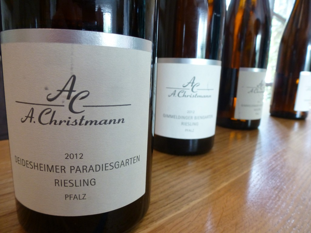 Tasting at Weingut Christmann