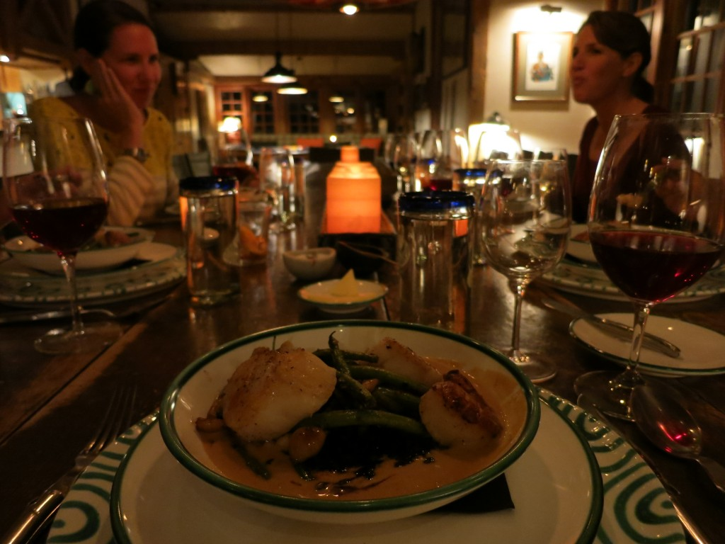 Dinner at Dunton Hot Springs paired with Sutcliffe wines