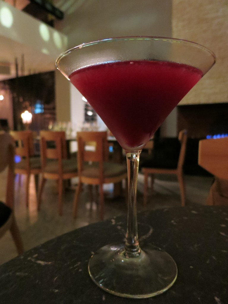 Corozo cocktail at Leo Cocina y Cava