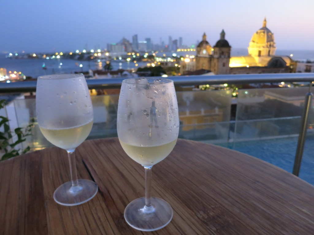 Sauvignon Blanc in Cartagena