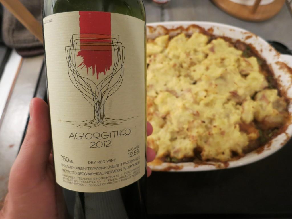 Agiorgitiko & Shepherd's Pie