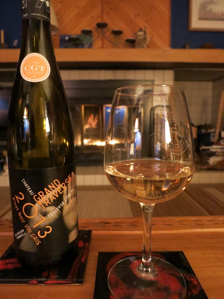 Chateau Grand Traverse Pinot Noir Vin Gris