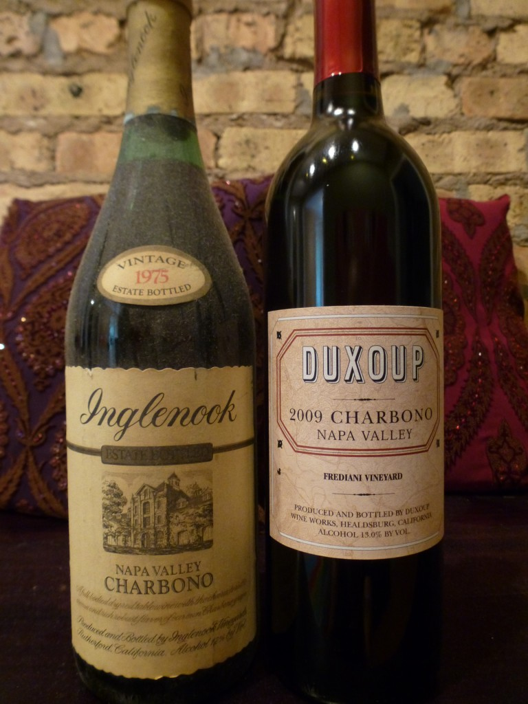 Inglenook and Duxoup Charbono