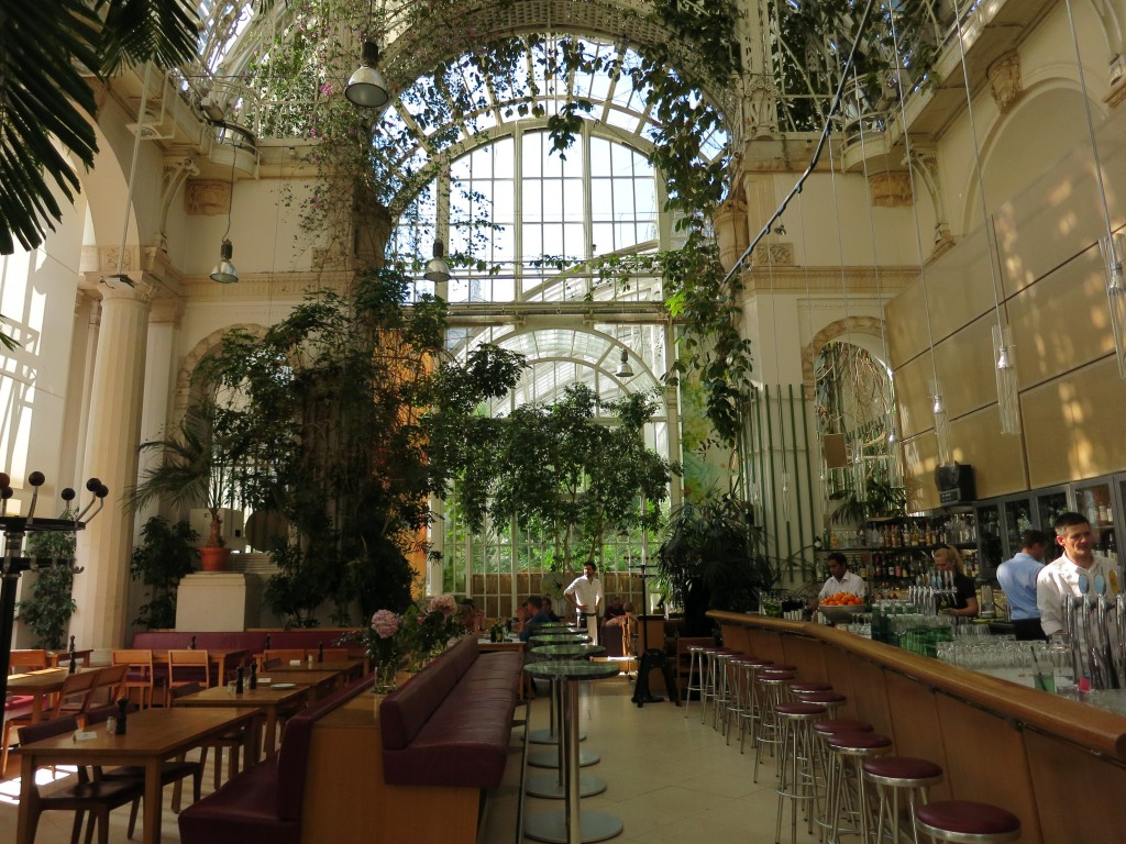Inside Vienna's Palmenhaus