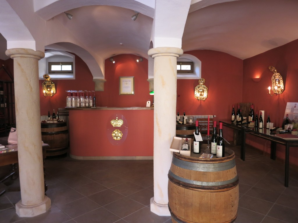 The Schloss Proschwitz tasting room and shop