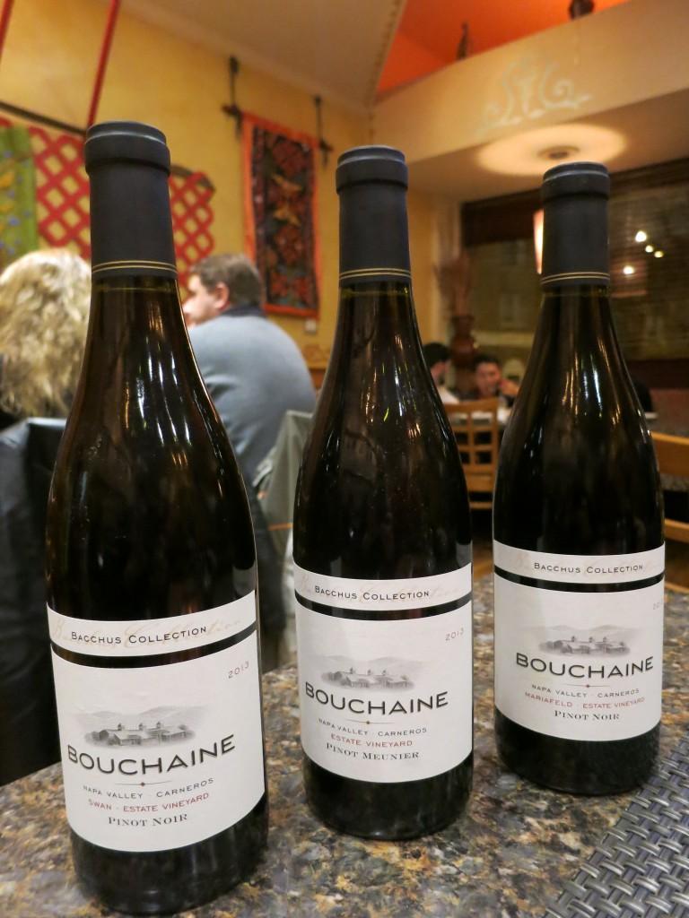Bouchaine Pinot Noir and Meunier