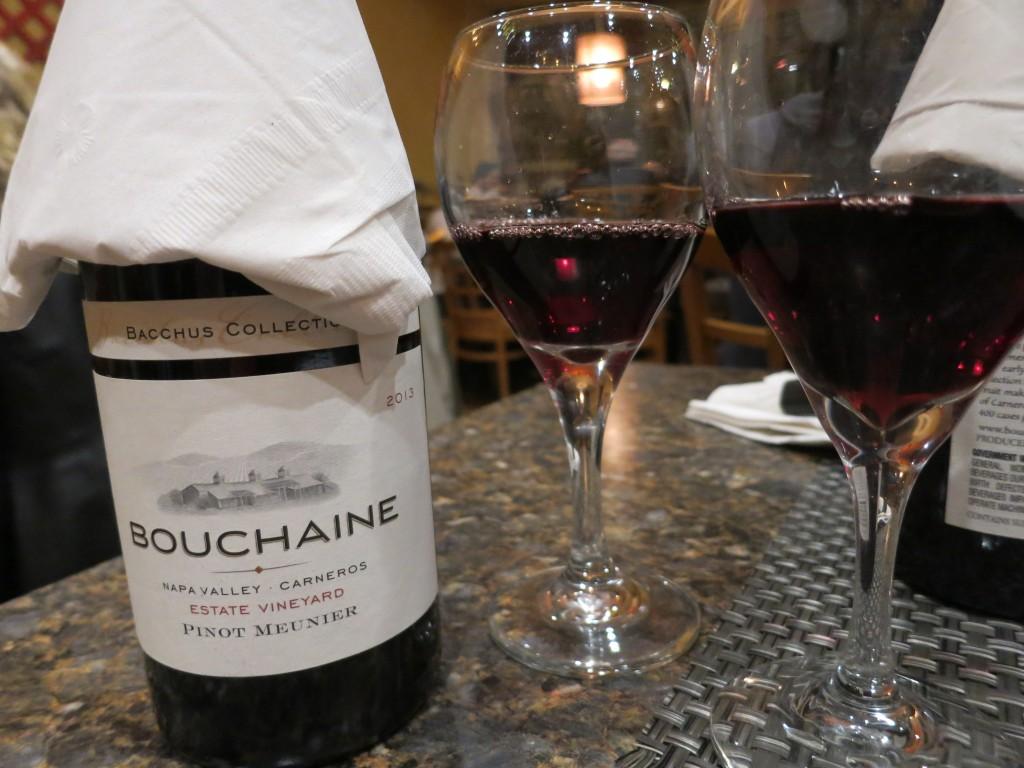 Bouchaine Pinot Meunier at Jibek Jolu