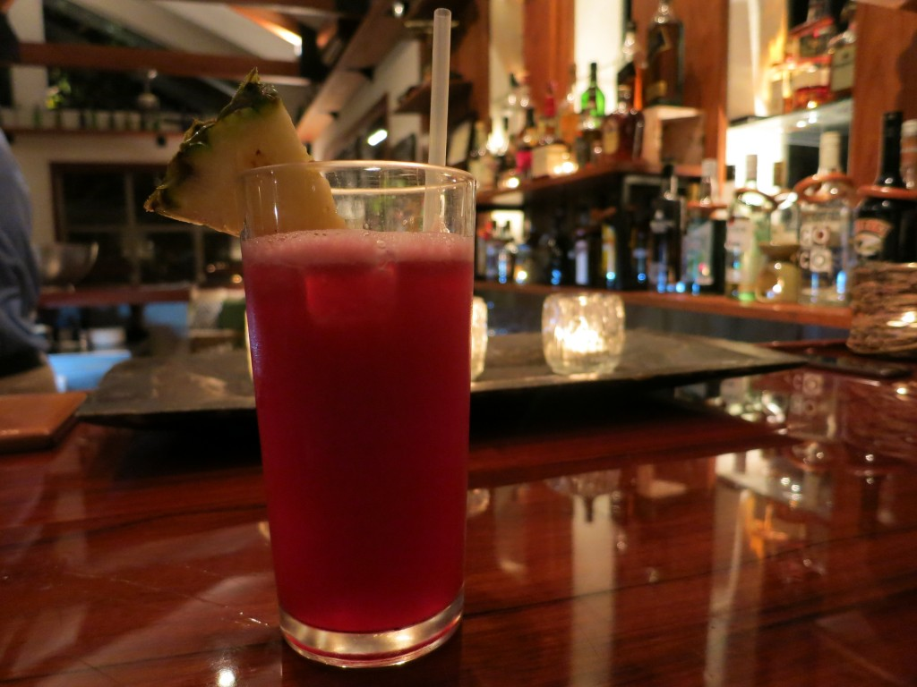 Hibiscus Daiquiri at Ka'ana