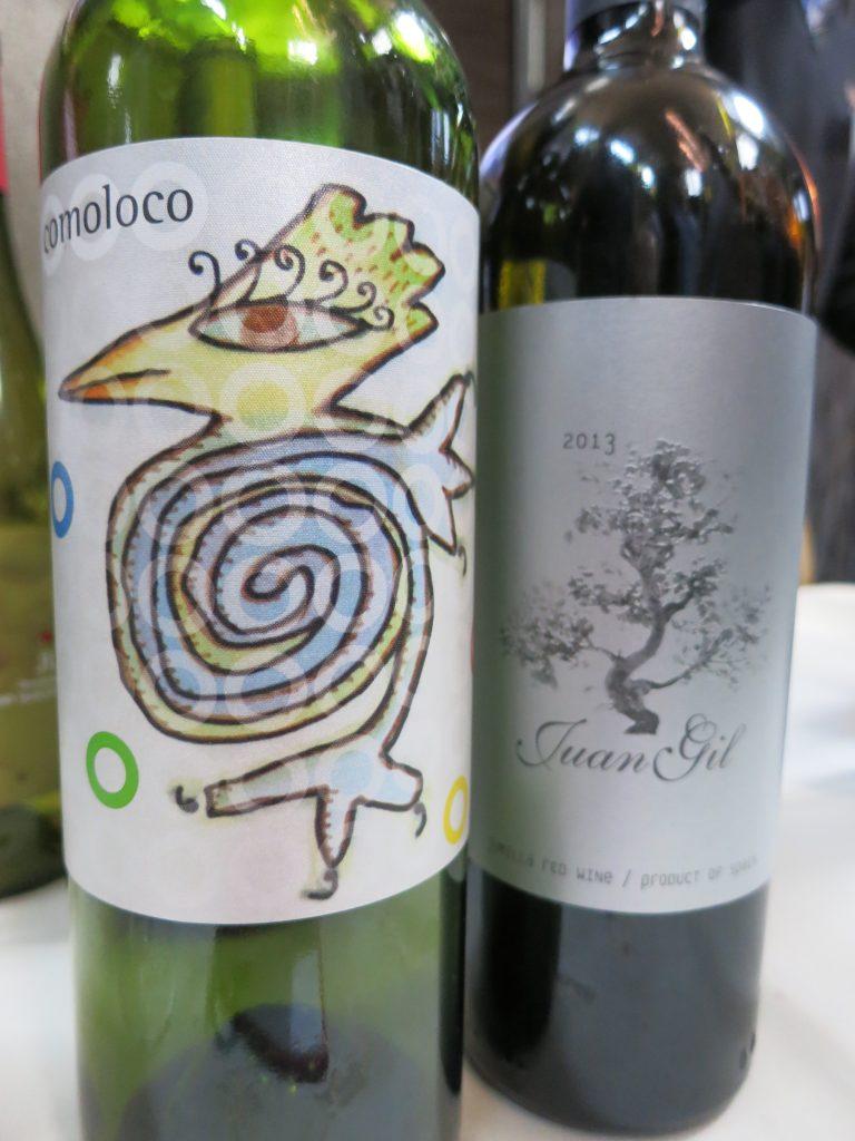 Juan Gil Conoloco and Silver Label