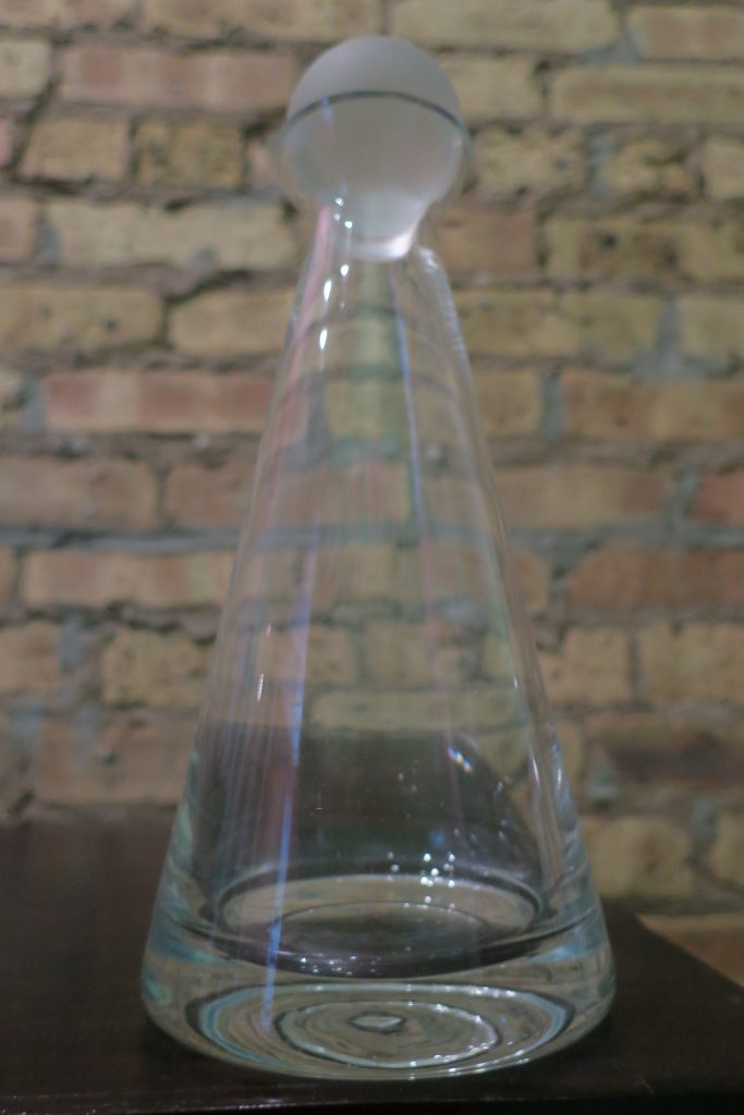 My empty, dusty decanter