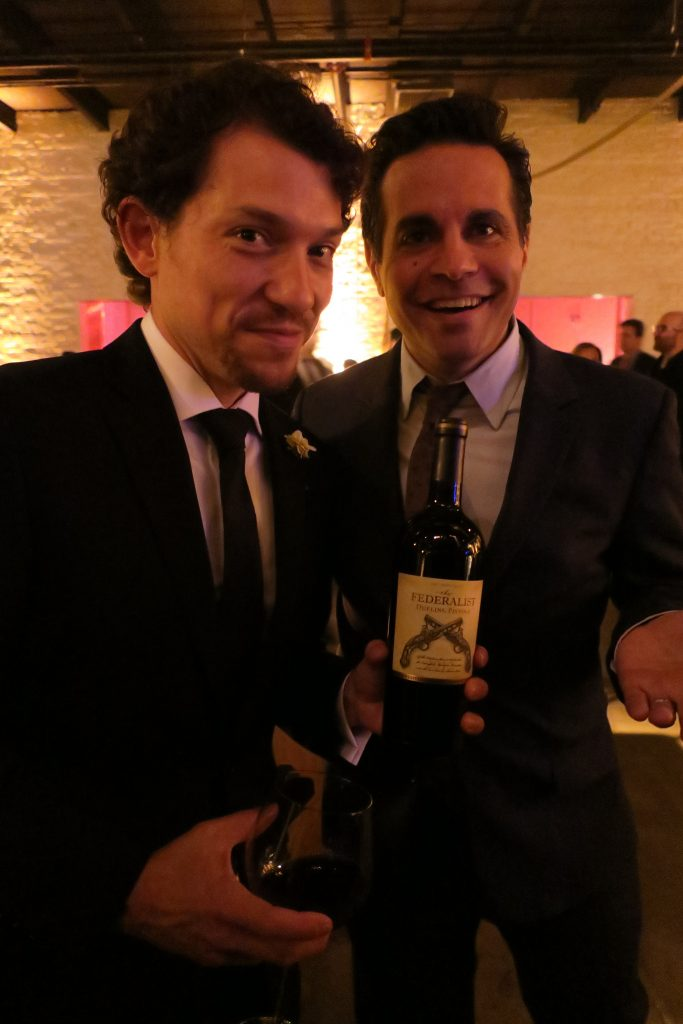 Miguel Cervantes and Mario Cantone